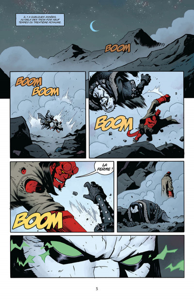 Page 5 Hellboy - dossiers secrets tome 2