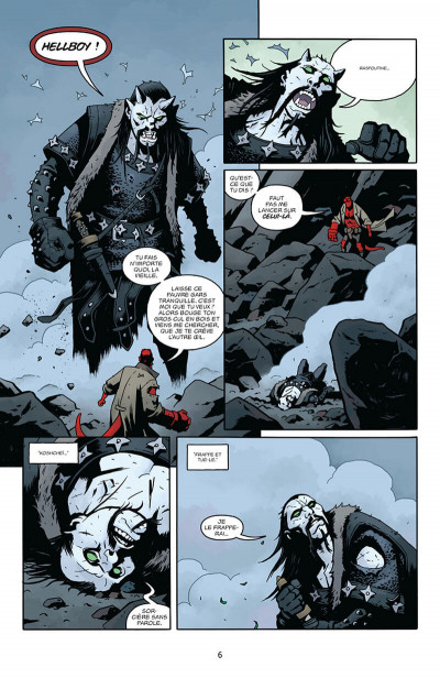 Page 6 Hellboy - dossiers secrets tome 2