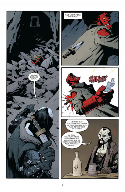 Page 7 Hellboy - dossiers secrets tome 2