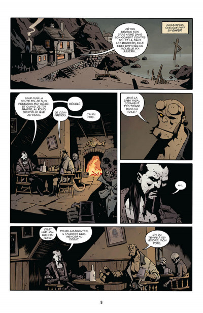 Page 8 Hellboy - dossiers secrets tome 2