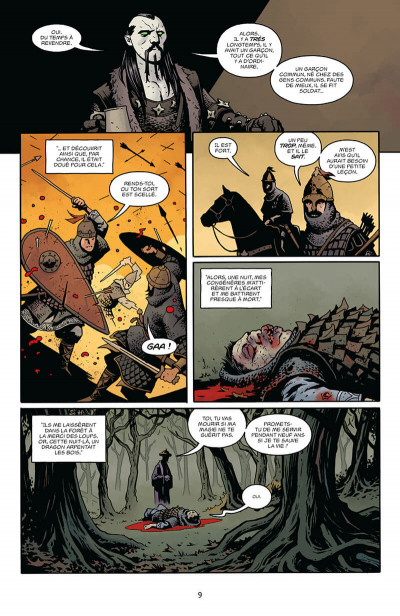 Page 9 Hellboy - dossiers secrets tome 2