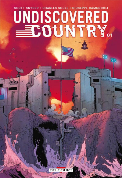 Couverture Undiscovered country tome 1 + ex-libris offert