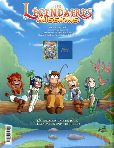 Dos Les Légendaires - missions tome 1
