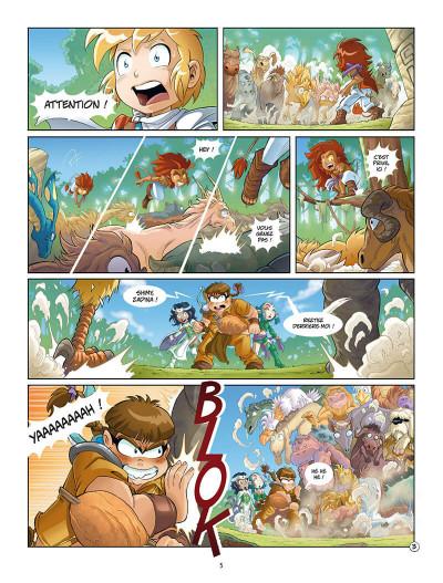 Page 8 Les Légendaires - missions tome 1