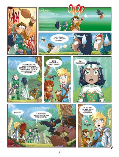 Page 9 Les Légendaires - missions tome 1