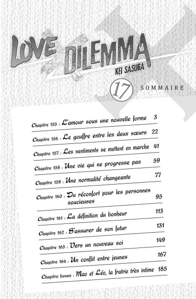 Page 2 Love X dilemma tome 17