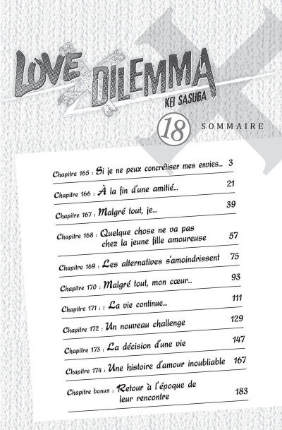 Page 2 Love X dilemma tome 18
