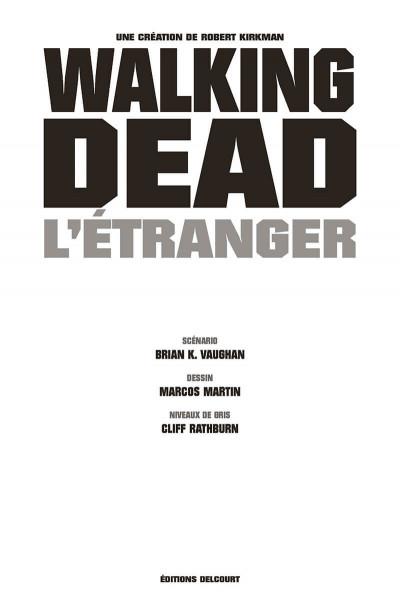Page 3 Walking dead - L'étranger et le retour de Negan