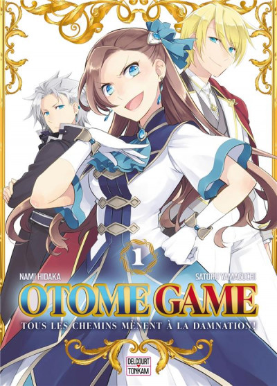 Couverture Otome game tome 1
