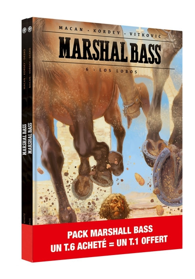 Couverture Marshal Bass - pack tomes 1 et 6
