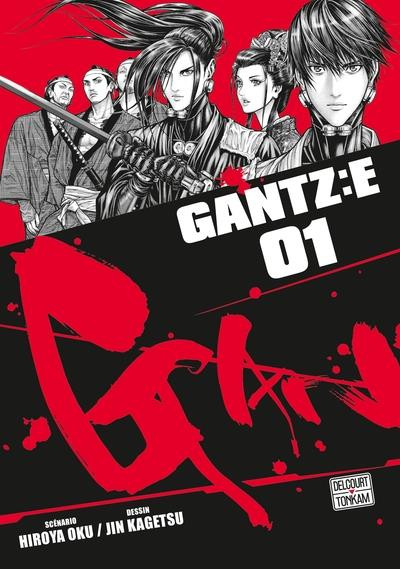 Couverture Gantz :E tome 1