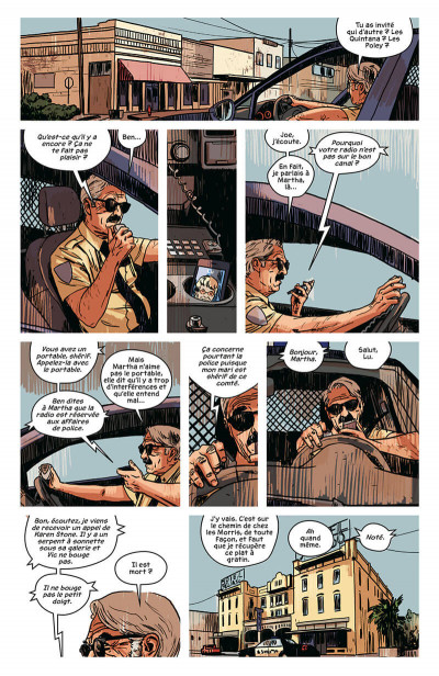 Page 9 Texas blood tome 1