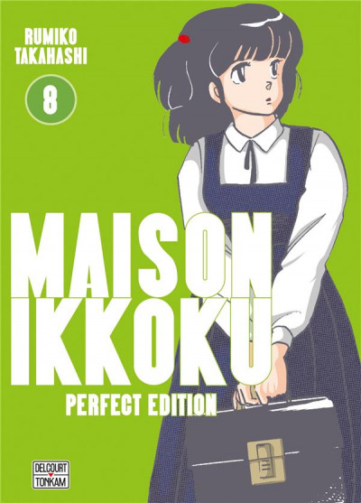 Couverture Maison Ikkoku - perfect edition tome 8