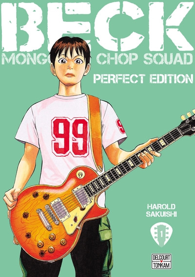 Couverture Beck - perfect edition tome 1