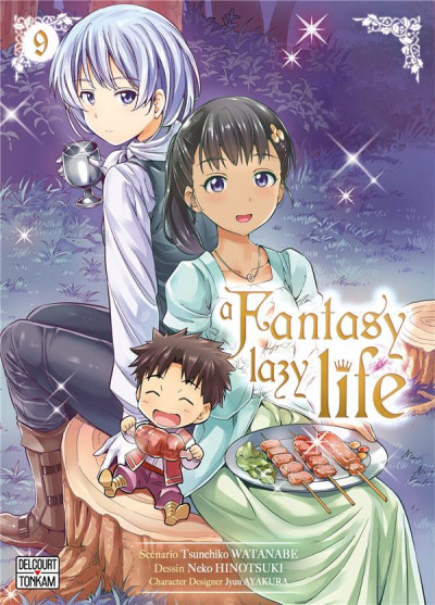 Couverture A fantasy lazy life tome 9