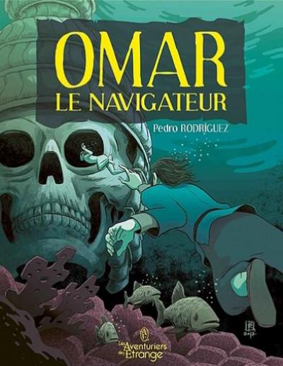 Couverture Omar le navigateur : Jinn-le-raïs