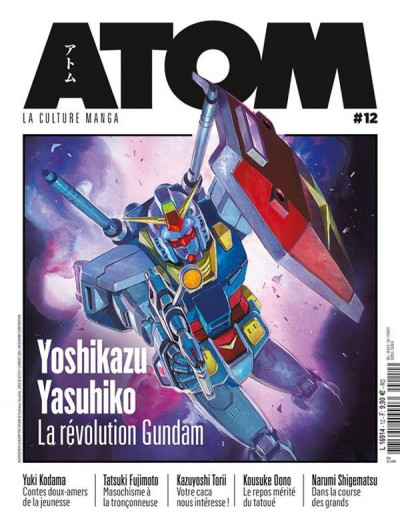 Couverture Atom tome 12