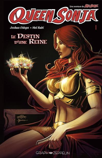 Couverture Red Sonja - Queen Sonja - Le destin d'une reine