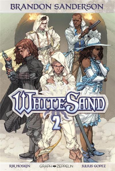 Couverture White sand tome 2