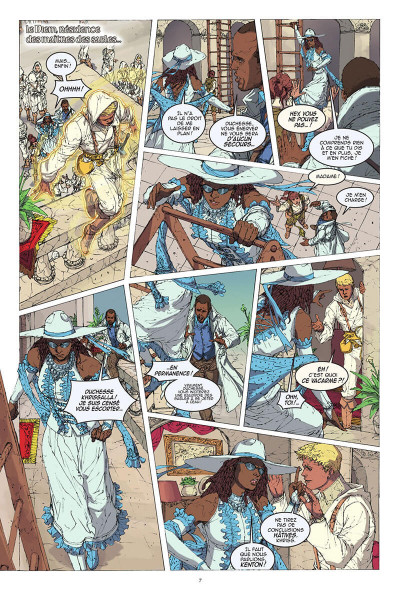 Page 8 White sand tome 2
