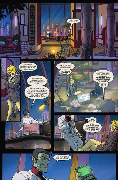 Page 7 Danger Girl - Tir aux pigeons