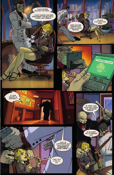Page 8 Danger Girl - Tir aux pigeons