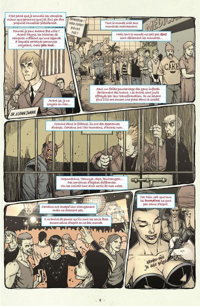 Page 0 V-Wars, la reine pourpre tome 1