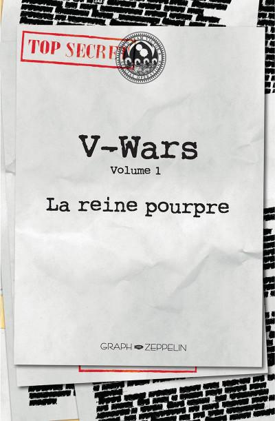 Page 2 V-Wars, la reine pourpre tome 1