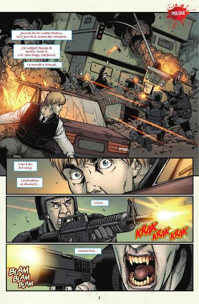 Page 6 V-Wars, la reine pourpre tome 1