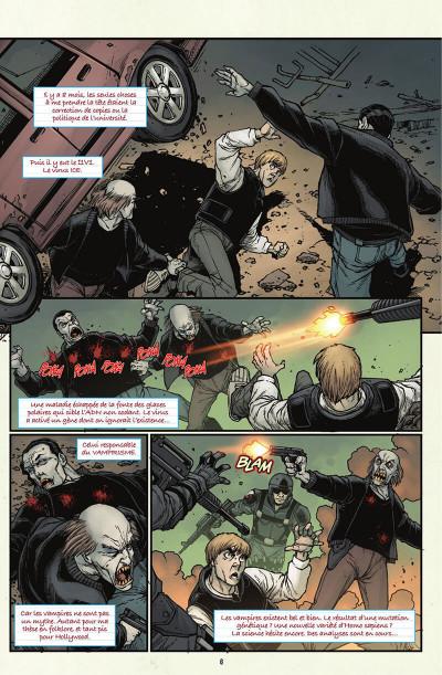 Page 7 V-Wars, la reine pourpre tome 1