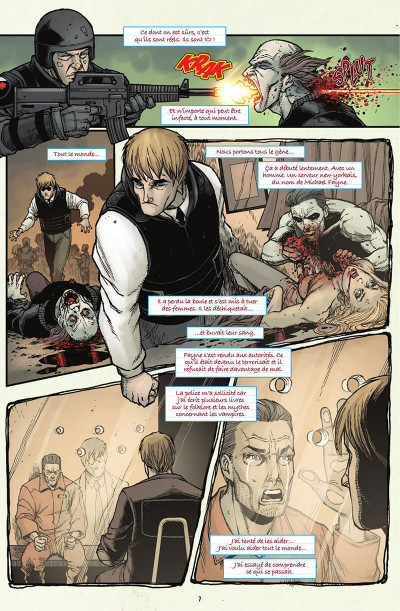 Page 8 V-Wars, la reine pourpre tome 1
