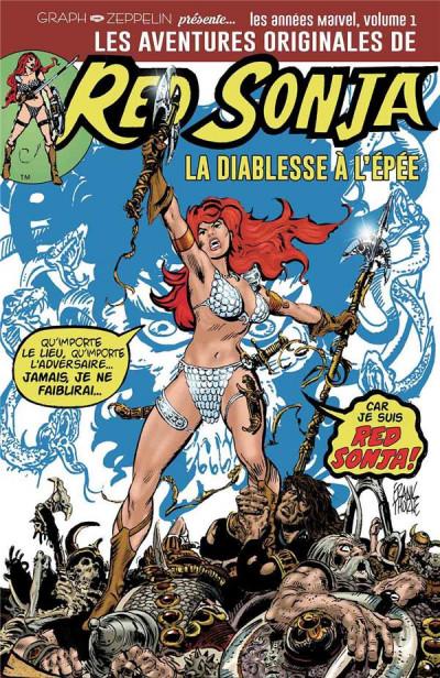 Couverture Les aventures originales de Red Sonja tome 1