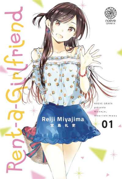 Couverture Rent-a-girlfriend tome 1