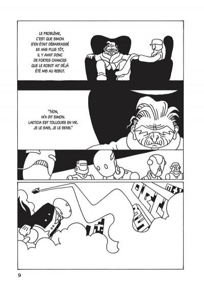 Page 0 Une brève histoire du robo sapiens tome 1