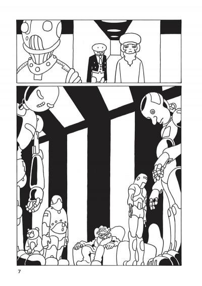 Page 8 Une brève histoire du robo sapiens tome 1