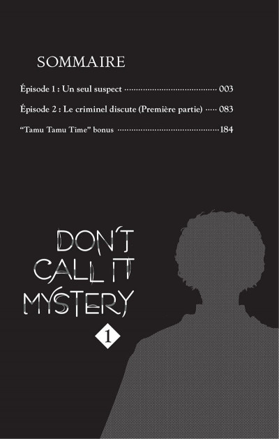 Page 3 Don't call it mystery tome 1