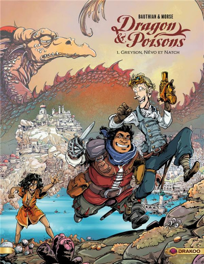 Couverture Dragon & poisons tome 1