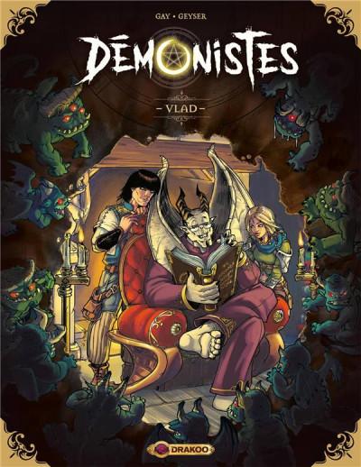 Couverture Démonistes tome 1