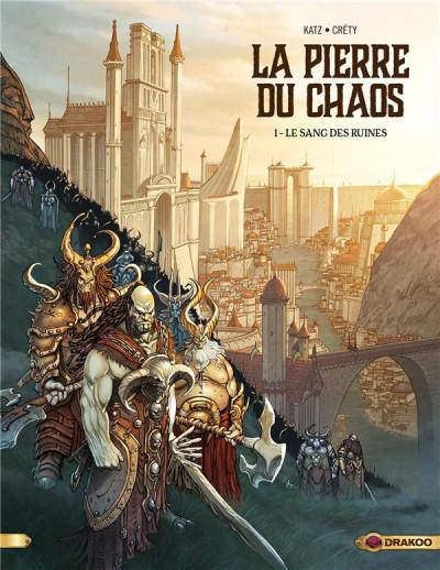 Couverture La pierre du chaos tome 1