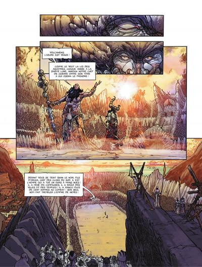 Page 4 La pierre du chaos tome 1