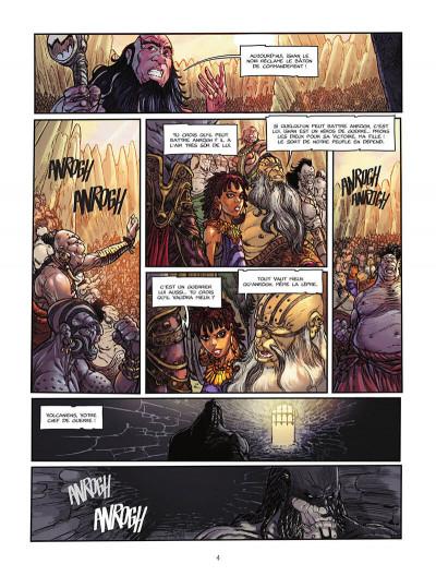 Page 5 La pierre du chaos tome 1