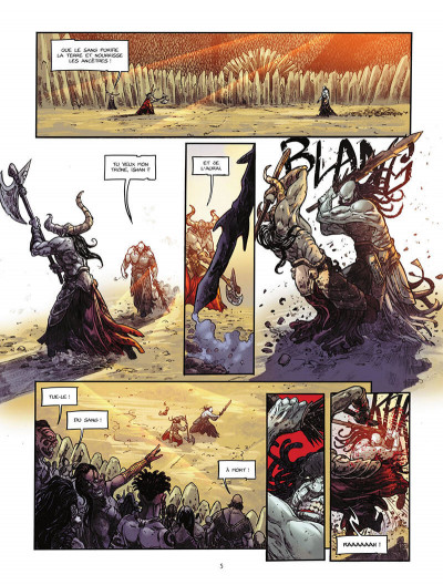 Page 6 La pierre du chaos tome 1