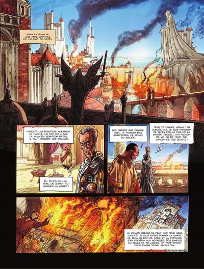 Page 8 La pierre du chaos tome 1
