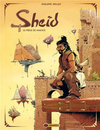 Couverture Sheid tome 1 + ex-libris offert