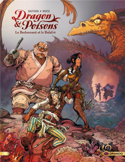 Couverture Dragon & poisons tome 2