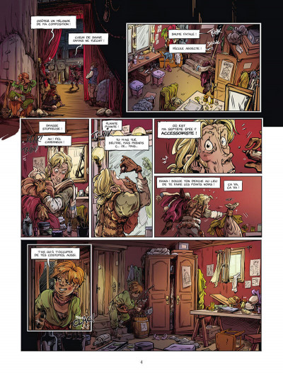 Page 5 Dragon & poisons tome 2