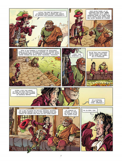 Page 8 Dragon & poisons tome 2
