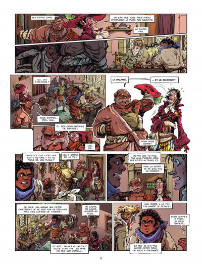 Page 9 Dragon & poisons tome 2