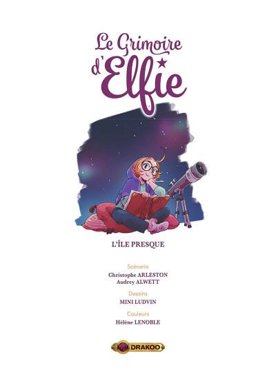 Page 2 Le grimoire d'Elfie