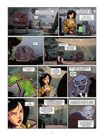 Page 0 Téléportation inc tome 1